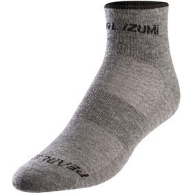 PEARL iZUMi Merino Wool Socks Women smoked pearl core